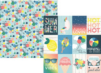 Simple Stories - Sunshine and Blue Skies Double-Sided Cardstock 12