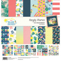 Simple Stories - Sunshine and Blue Skies Collection Kit 12