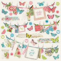 Simple Stories - Simple Vintage Botanicals Banner Sticker 12