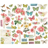 Simple Stories - Simple Vintage Botanicals Bits & Pieces, 53 osaa