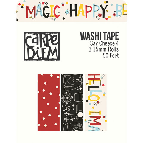 Simple Stories - Say Cheese 4 Washi Tape, 3 rullaa