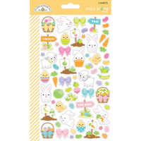 Doodlebug - Hoppy Easter Icons, Cardstock Stickers