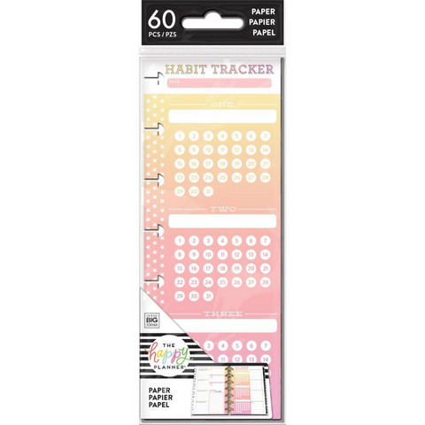 MAMBI - Happy Planner MINI Habit Tracker, Half Sheet