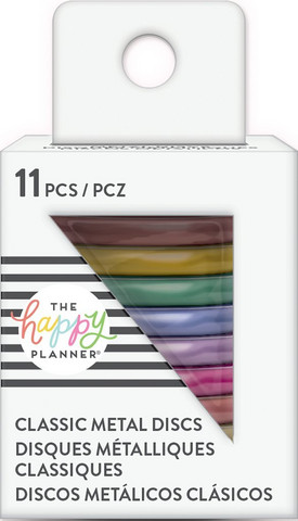 MAMBI - Happy Planner Metal Discs, Rainbow, 1,25
