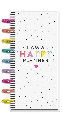 MAMBI - Classic Half Sheet Notebook, I Am A Happy Planner
