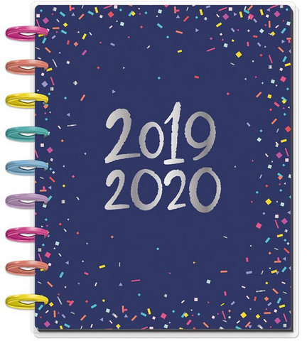 MAMBI - CLASSIC Happy Planner 2019-2020, 18 kk, Happy Year