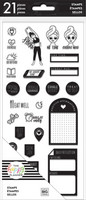 MAMBI - Happy Planner Clear Stamps, Fitness/Wellness, Leimasetti
