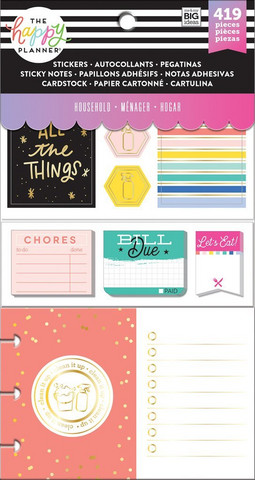 Mambi - Happy Planner Accessory Pack, Household
