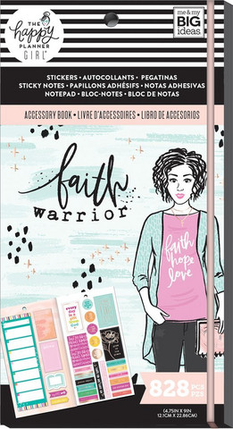 Mambi - Happy Planner Accessory Book, Faith Warrior