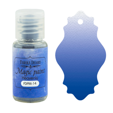 Fabrika Decoru - Magic Paint, Värijauhe,15 ml, Heavenly