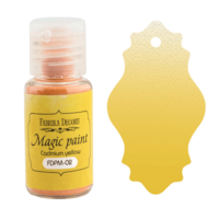 Fabrika Decoru - Magic Paint, Värijauhe,15 ml, Cadmium Yellow