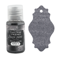 Fabrika Decoru - Magic Paint With Effect, Helmiäisvärijauhe,15 ml, Shimmer graphite