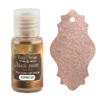 Fabrika Decoru - Magic Paint With Effect, Helmiäisvärijauhe,15 ml, Chocolate with bronze