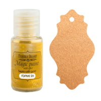 Fabrika Decoru - Magic Paint With Effect, Helmiäisvärijauhe,15 ml, Sepia with gold