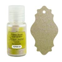 Fabrika Decoru - Magic Paint With Effect, Helmiäisvärijauhe,15 ml, Ice avocado