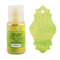 Fabrika Decoru - Magic Paint With Effect, Helmiäisvärijauhe,15 ml, Autumn foliage