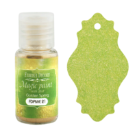 Fabrika Decoru - Magic Paint With Effect, Helmiäisvärijauhe,15 ml, Golden Spring