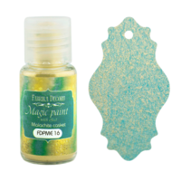 Fabrika Decoru - Magic Paint With Effect, Helmiäisvärijauhe,15 ml, Malachite casket