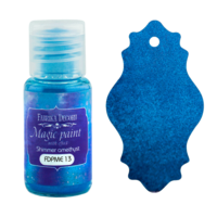 Fabrika Decoru - Magic Paint With Effect, Helmiäisvärijauhe,15 ml, Shimmer amethyst