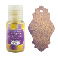 Fabrika Decoru - Magic Paint With Effect, Helmiäisvärijauhe,15 ml, Violet with gold