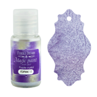 Fabrika Decoru - Magic Paint With Effect, Helmiäisvärijauhe,15 ml, Purple crystal