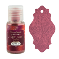 Fabrika Decoru - Magic Paint With Effect, Helmiäisvärijauhe,15 ml, Red wine