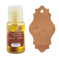Fabrika Decoru - Magic Paint With Effect, Helmiäisvärijauhe,15 ml, Shimmer ruby