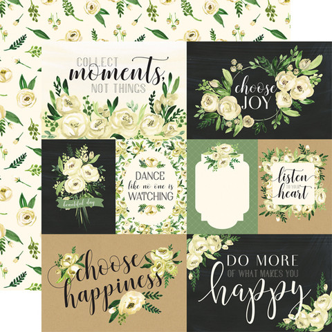 Carta Bella - Botanical Garden Double-Sided Cardstock 12