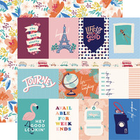 Carta Bella - Let`s Travel Double-Sided Cardstock 12