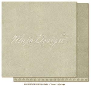 Maja Design - Monochromes, Shades of Denim, Light Sage