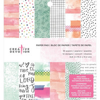 American Crafts - Creative Devotion Paper Pad, Paperikko 6