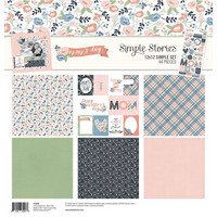 Simple Stories - Mom's Day Collection Kit 12