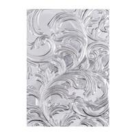 Sizzix - 3D Texture Fades Impressions Folder By Tim Holtz, Kohokuviointitasku, Elegant