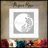 Paper Rose - Leafy Circle, Stanssi