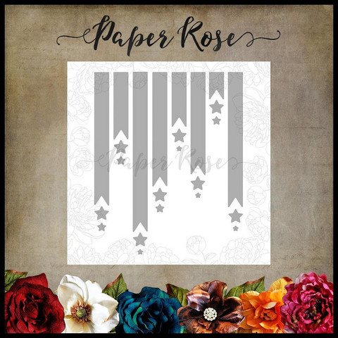 Paper Rose - Banners & Stars, Stanssisetti