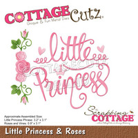Cottage Cutz - Little Princess & Roses, Stanssisetti