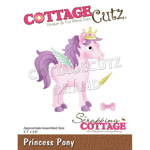 Cottage Cutz - Princess Pony, Stanssisetti