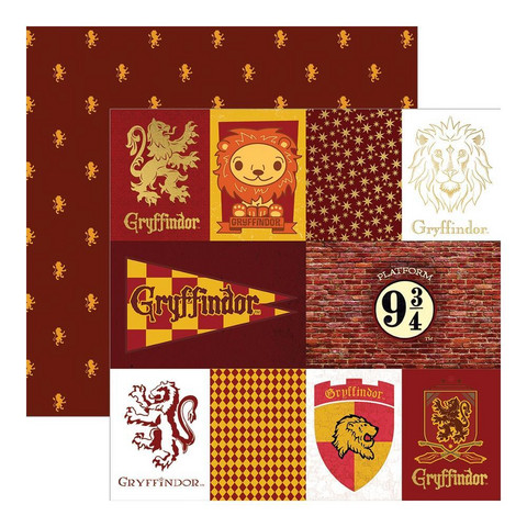Paper House - Harry Potter, Double-Sided Cardstock 12