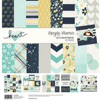 Simple Stories - Heart Collection Kit 12