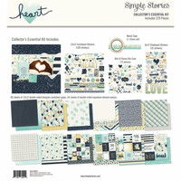 Simple Stories - Heart Collector's Essential Kit 12