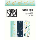 Simple Stories - Heart Washi Tape, 3 rullaa