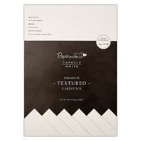 Papermania - Premium Cardstock Textured White, A4, 20 sivua