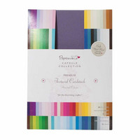 Papermania - Premium Cardstock Textured Colossal, A4, 75 sivua