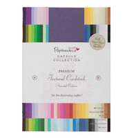 Papermania - Premium Cardstock Textured Colossal, A5, 75 sivua