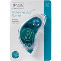 Gina K Designs - Adhesive Dot Runner Tarrarolleri, 9 m