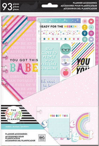 MAMBI - CLASSIC Happy Planner, Student - You Got This, Accessory Pack