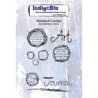 IndigoBlu - Stitched Circles, Leimasetti