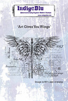 IndigoBlu - Art Gives You Wings, Leima