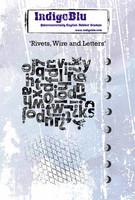 IndigoBlu - Rivet Wire & Letters, Leimasetti