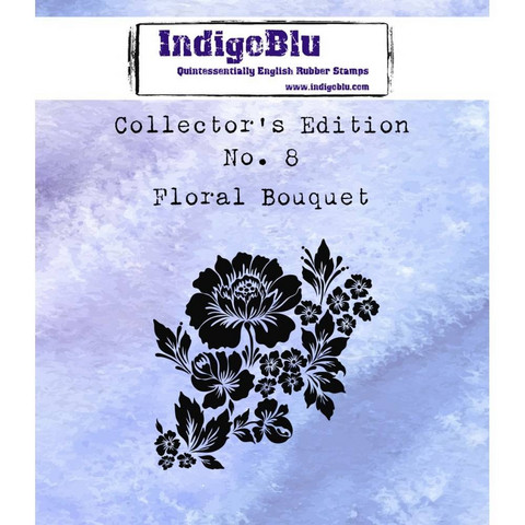 IndigoBlu - Collectors Edition 8, Floral Bouquet, Leima